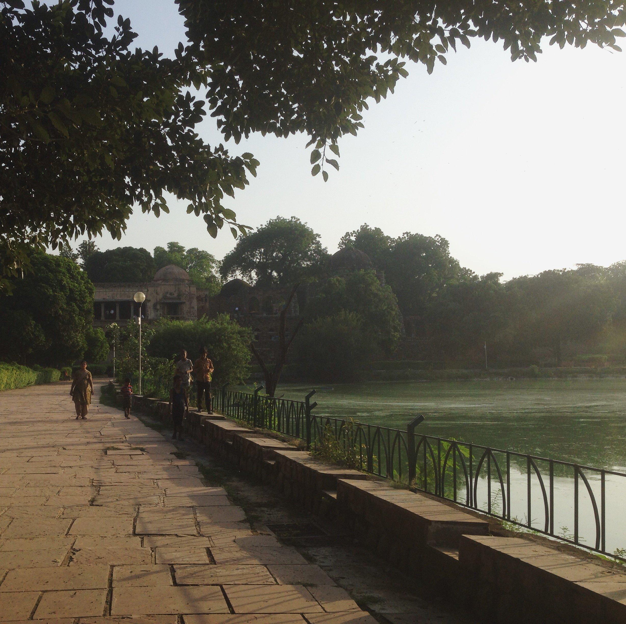 Lac de Green Park