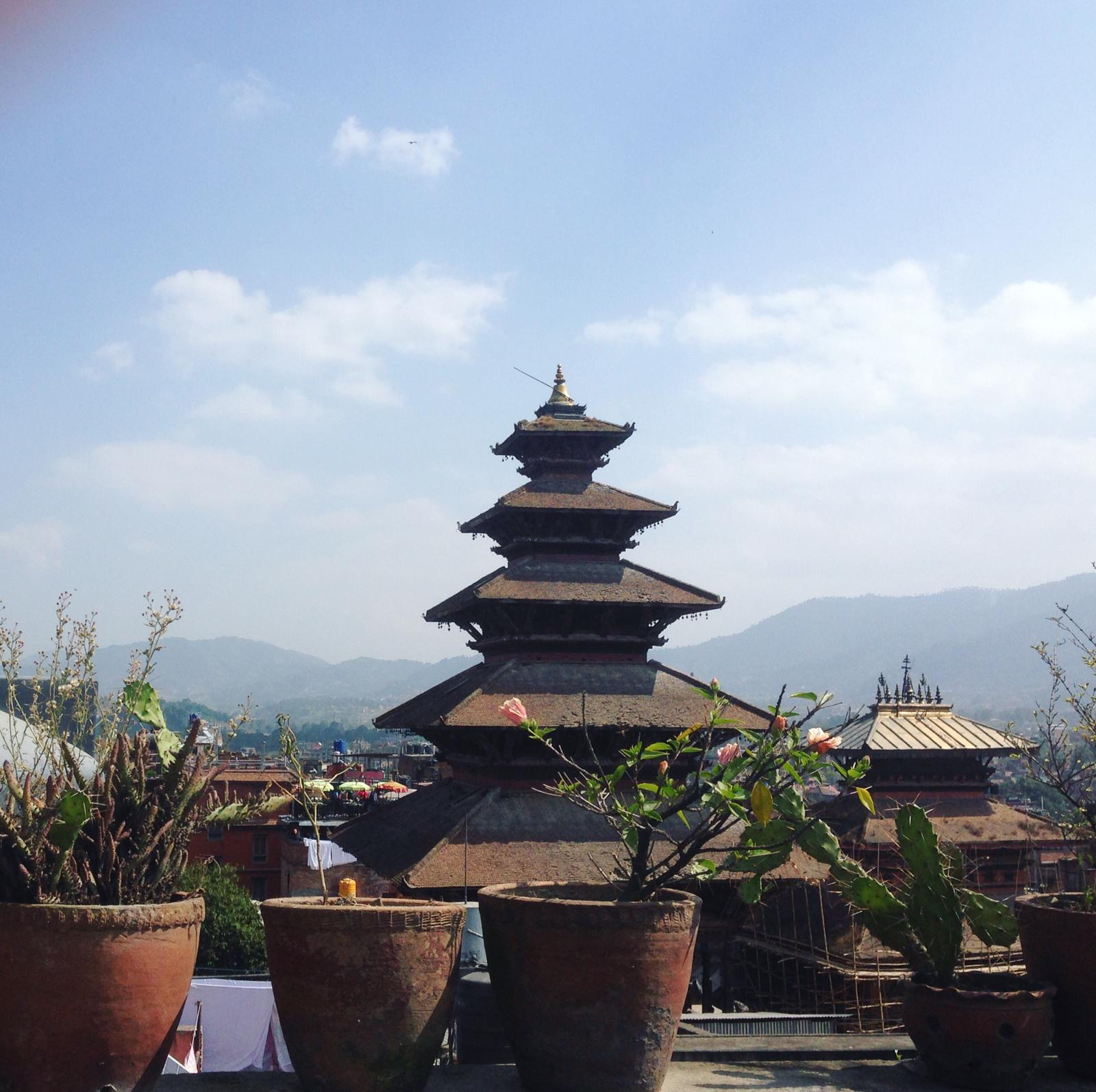 Temple à bhaktapur
