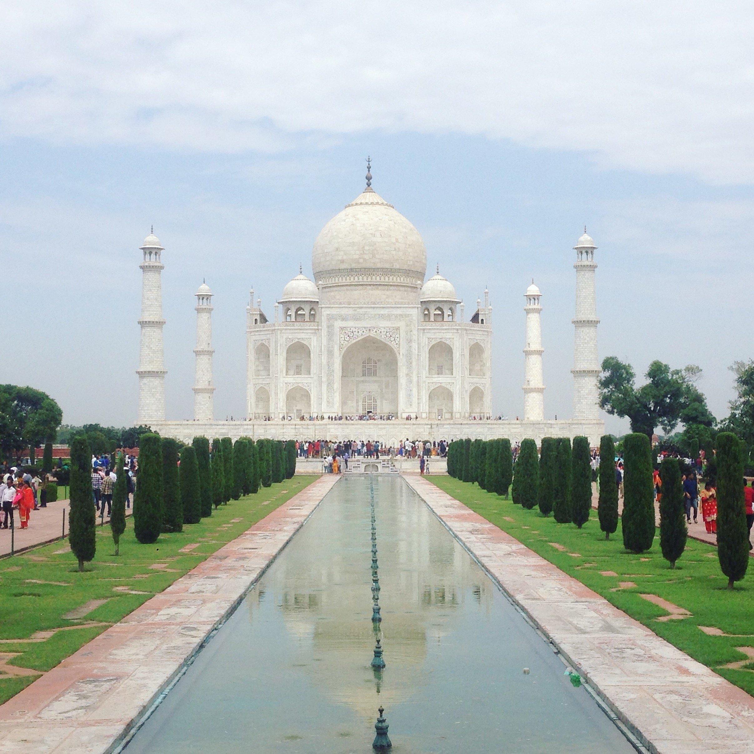 Vue du Taj Mahal