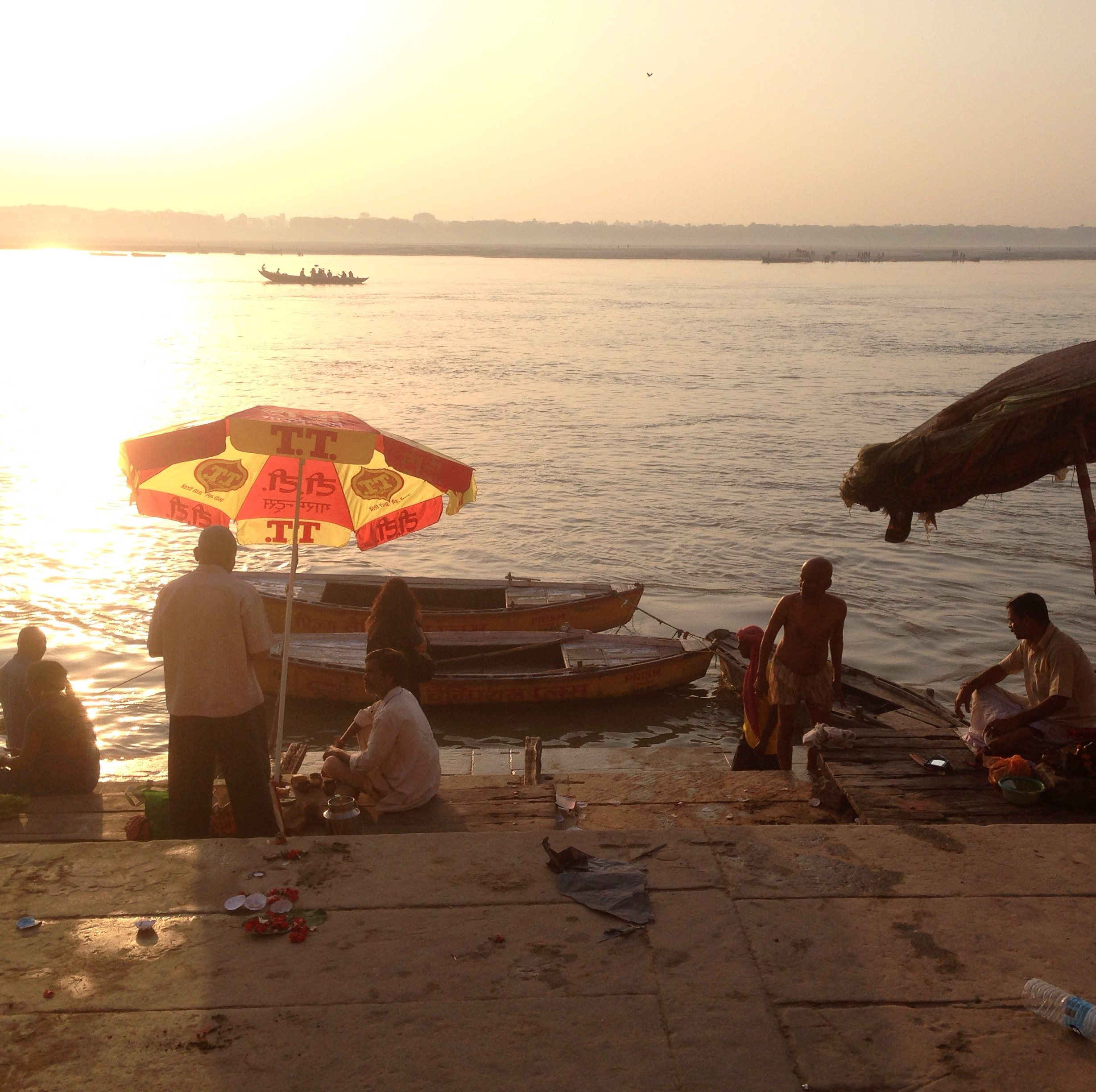 Promenade long le Gange