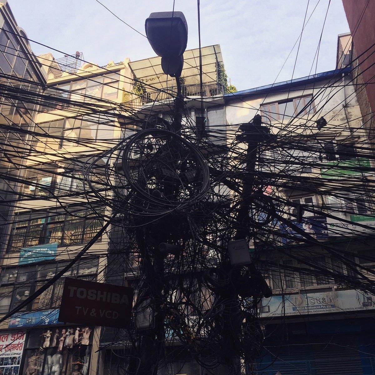 Katmandu et l'electricité