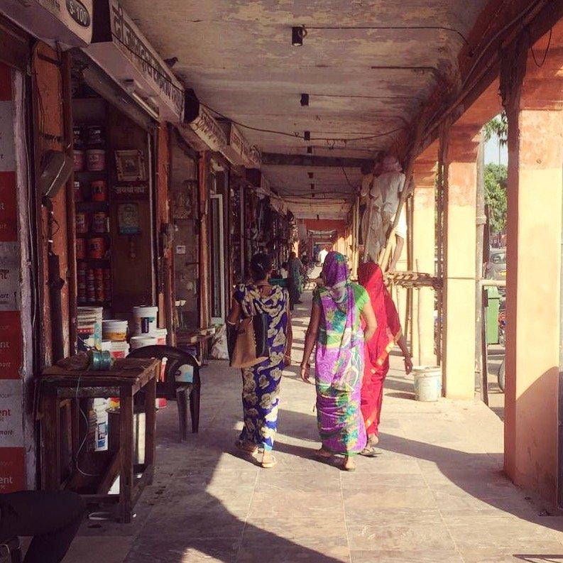 Routes à Jaipur