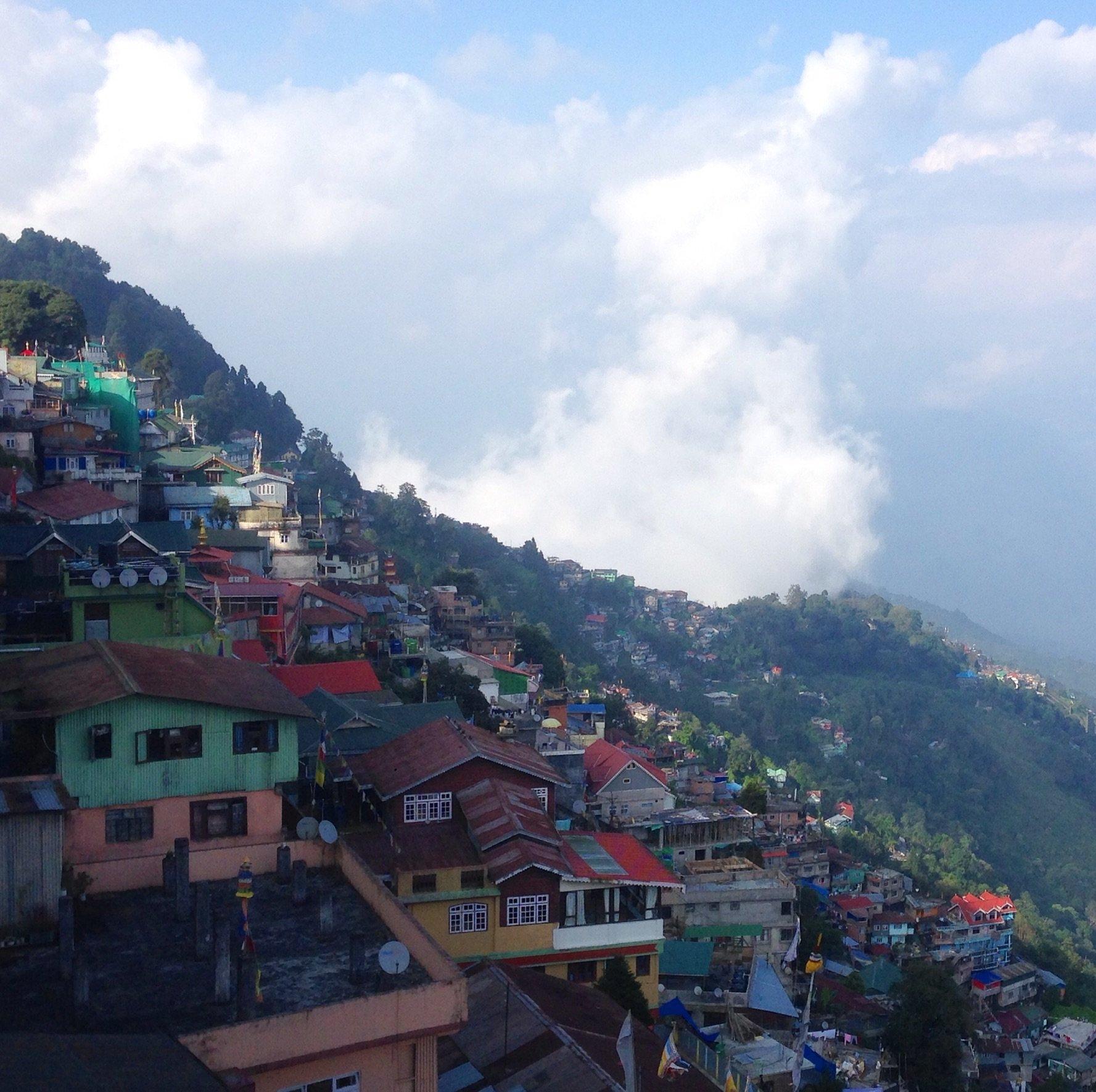 Darjeeling avec le soleil