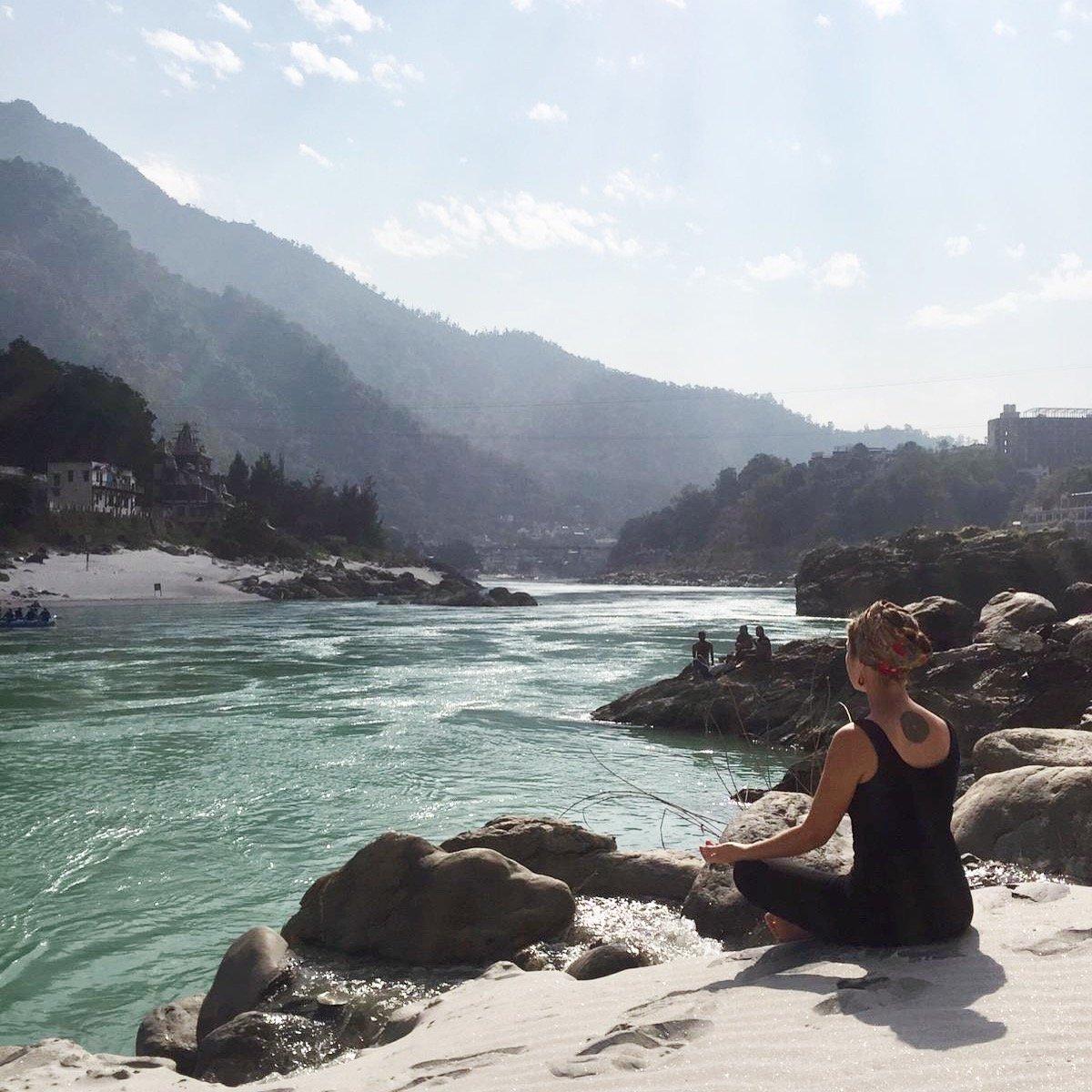 Rishikesh Gange méditation