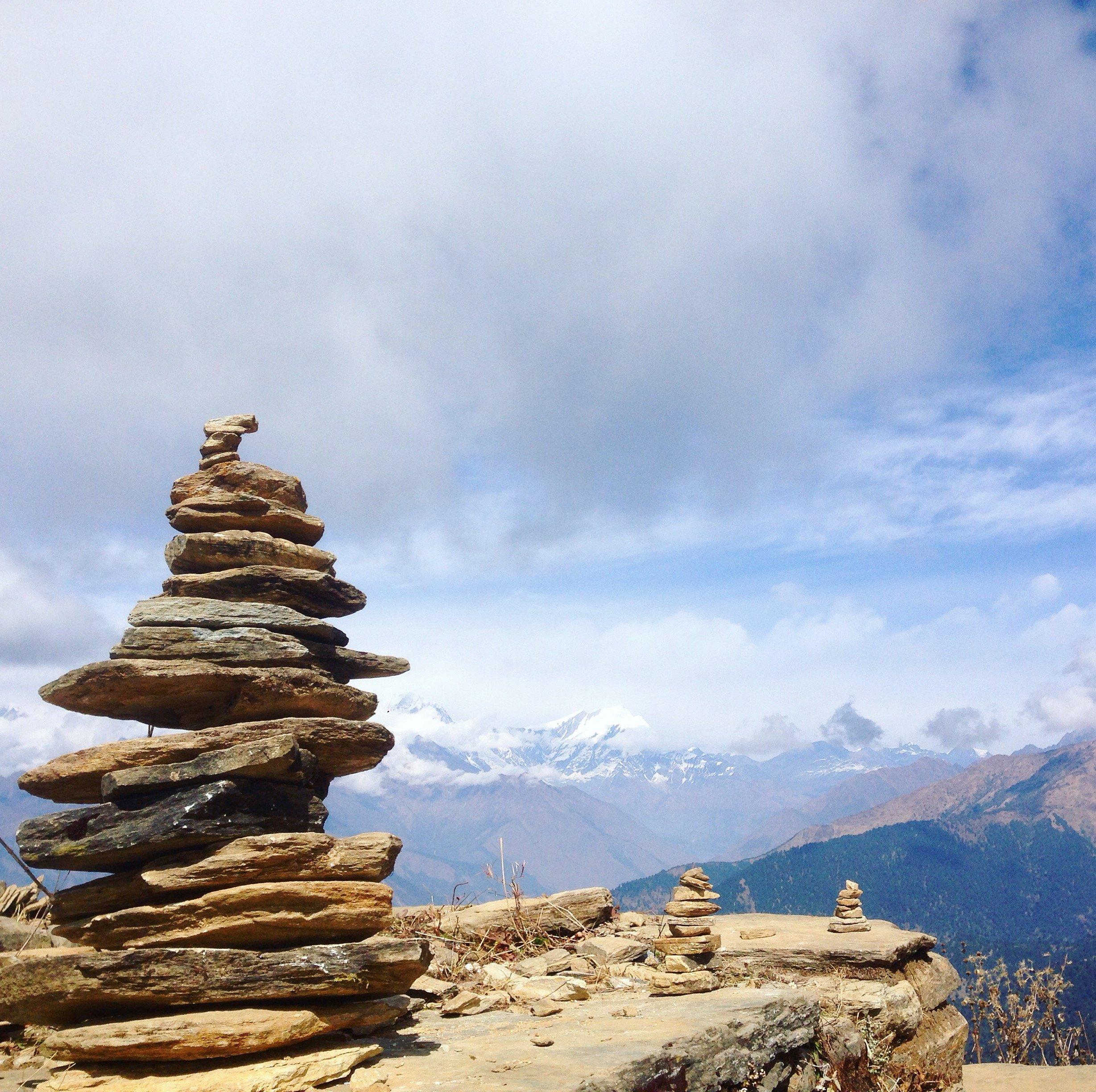 Vue sur l'Himalaya