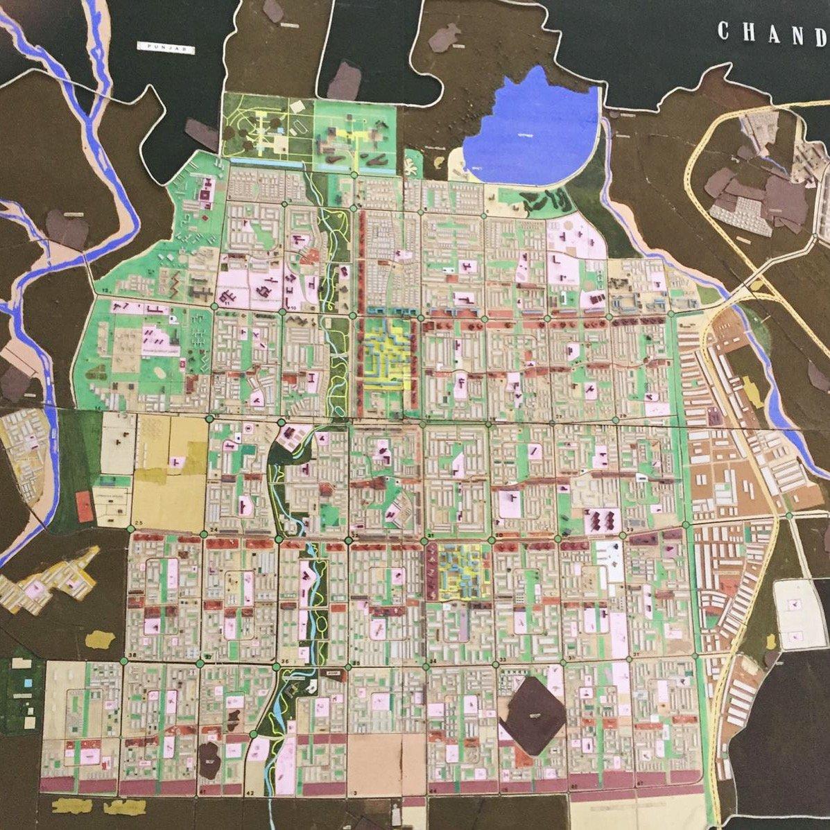 Chandigarh plan urbanistique