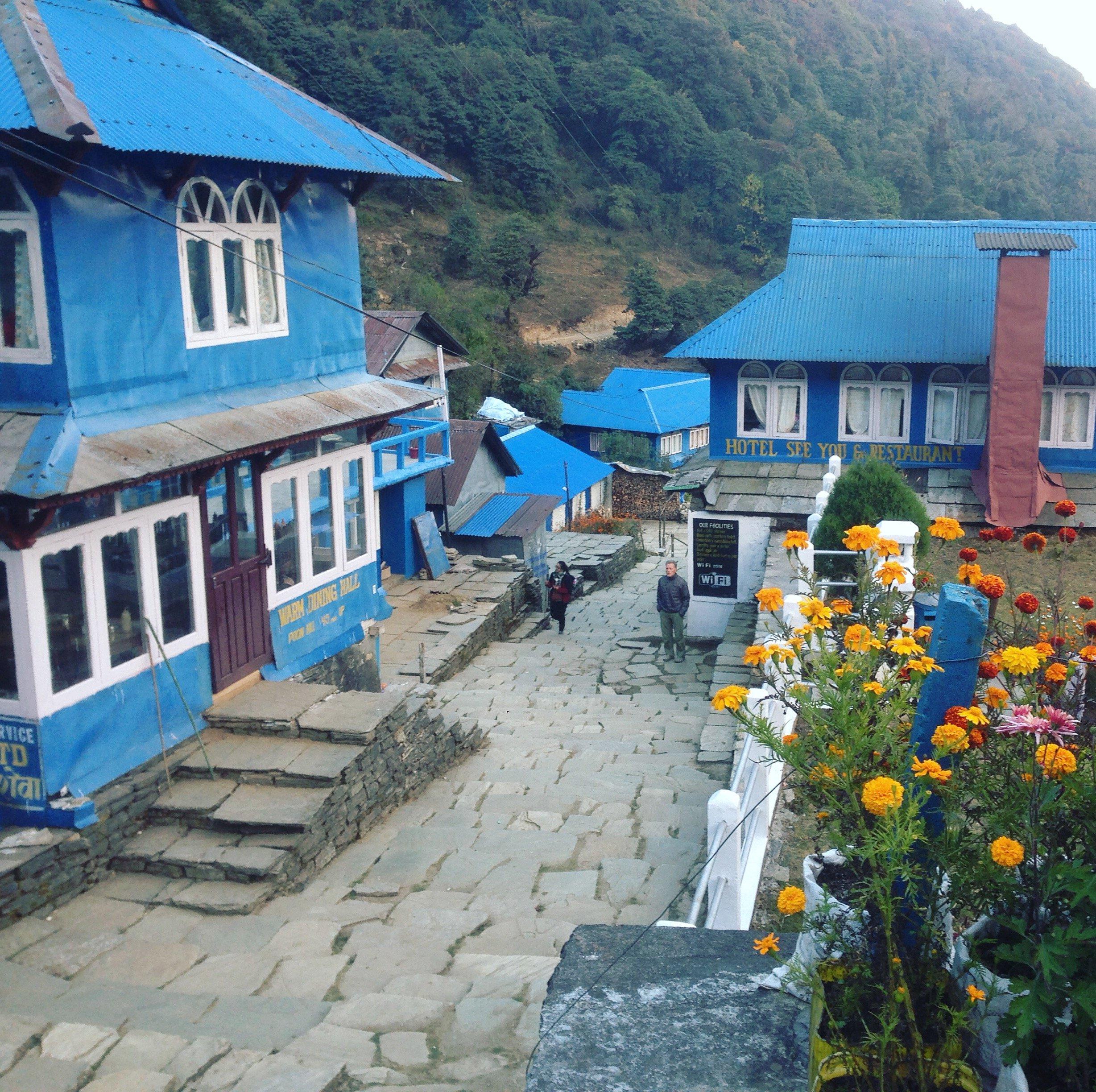 Lodges Annapurna base camp