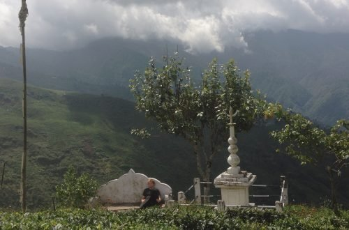 Paysage du mont - Khajuraho