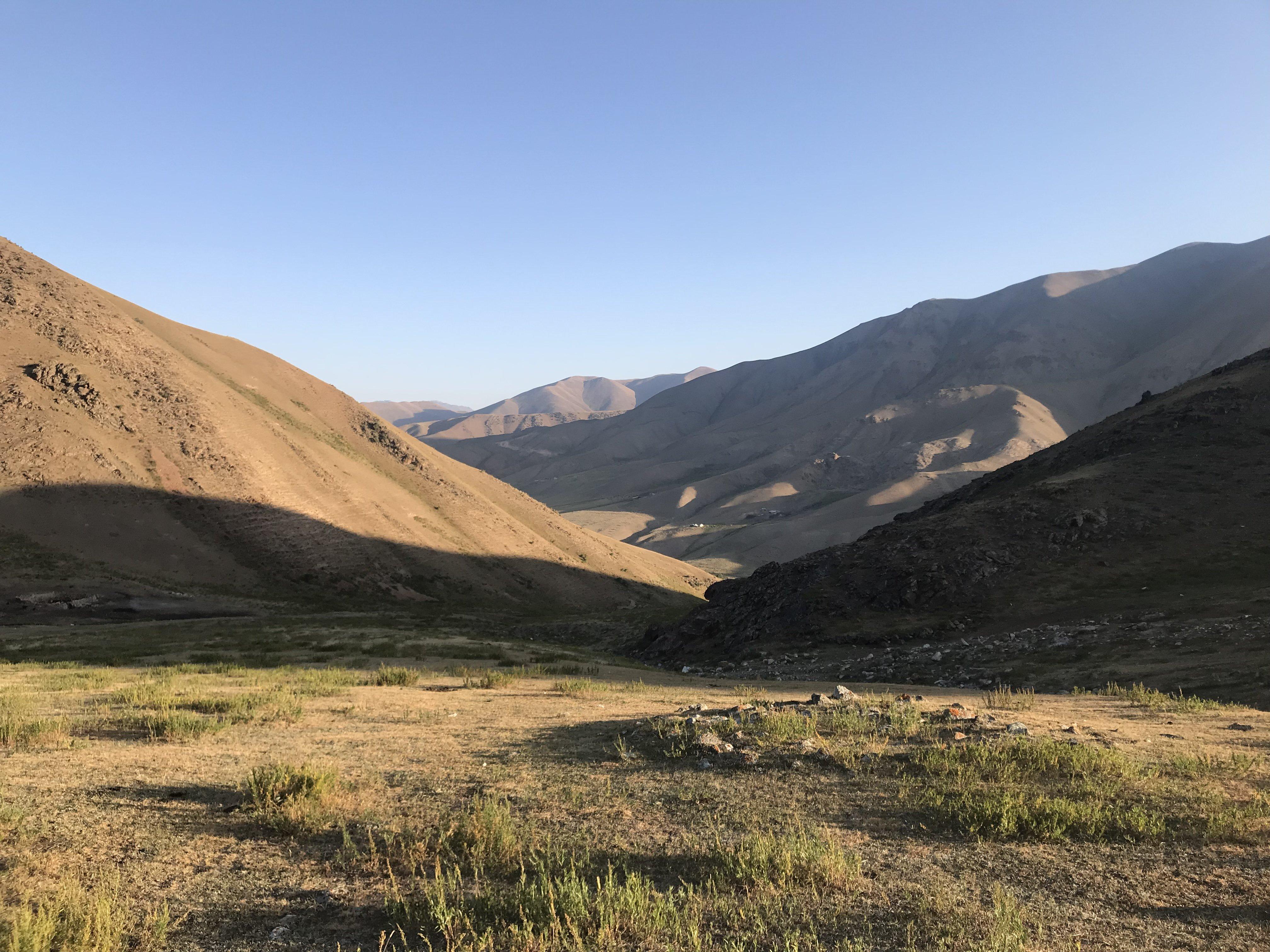 Kilemche camp Kirghizistan