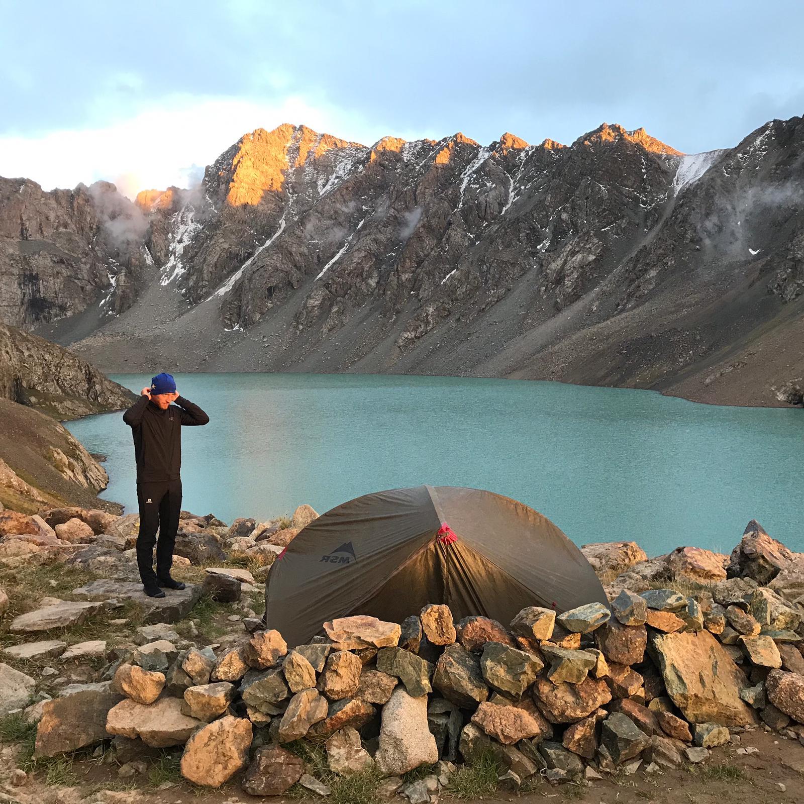 Lac Ala kul Kirghizistan