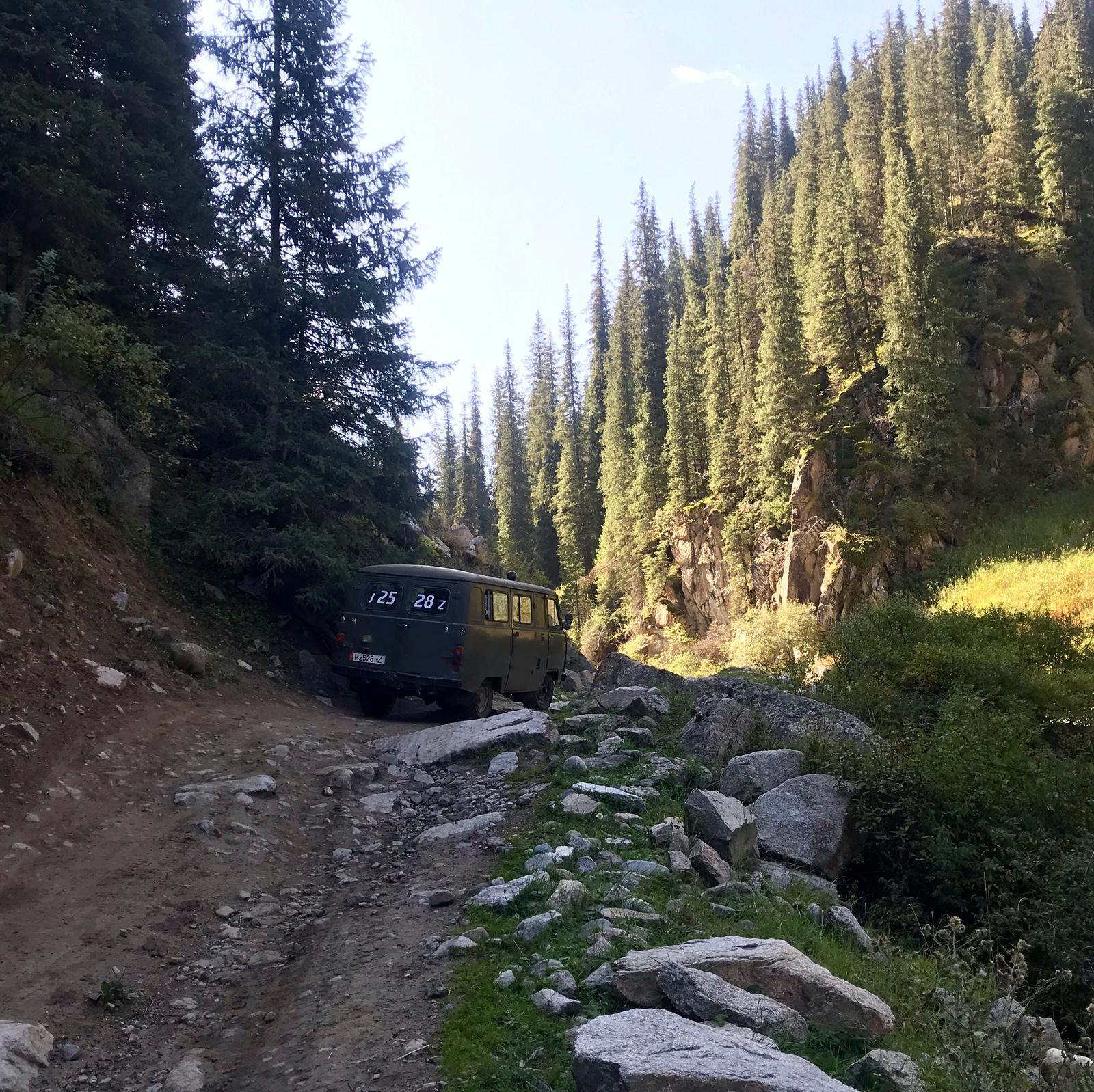Uaz trek Ala kul